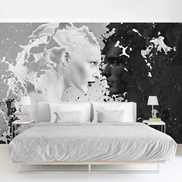 Product picture Photo Wall Mural - Milk & Coffee II -...