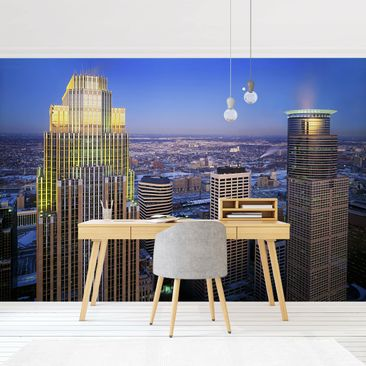 Product picture Photo Wall Mural - Minneapolis -...