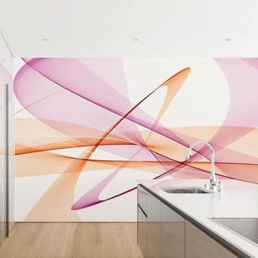 Product picture Photo Wall Mural - Mystical Waves -...