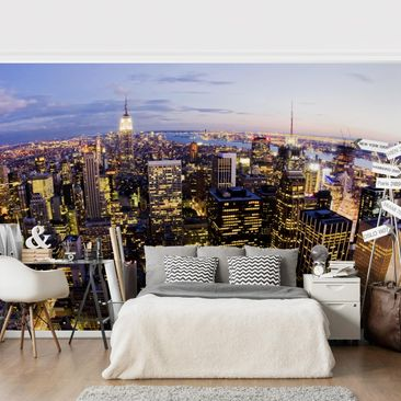 Product picture Photo Wall Mural - New York Skyline At...