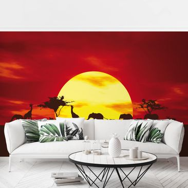 Produktfoto Photo Wall Mural - No.CG80 Sunset...