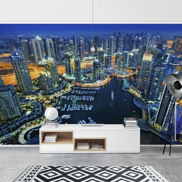 Product picture Photo Wall Mural - Nocturnal Dubai...