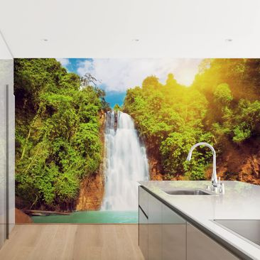 Product picture Photo Wall Mural - Paradise Lagoon -...