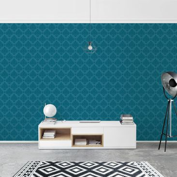 Product picture Photo Wall Mural - Petrol Baroque -...