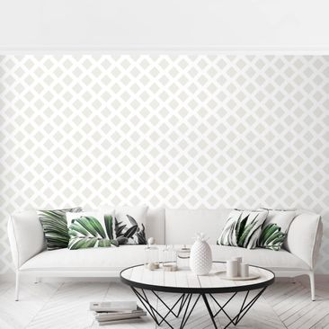 Product picture Photo Wall Mural - Diamond Lattice Light...