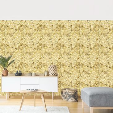 Product picture Photo Wall Mural - Retro Paisley -...