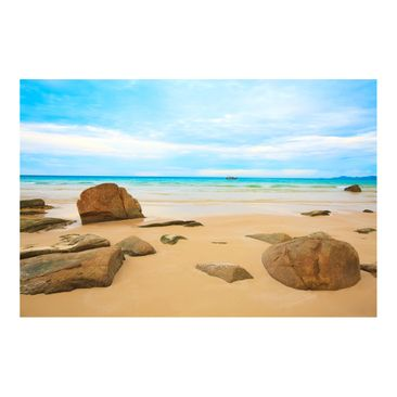 Product picture Photo Wall Mural - Rocky Beach -...
