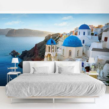 Product picture Photo Wall Mural - Santorini -...