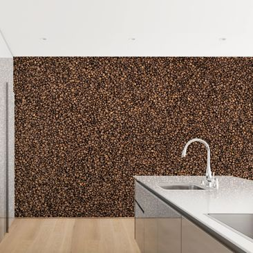 Product picture Photo Wall Mural - Sea Of ​​Coffee -...