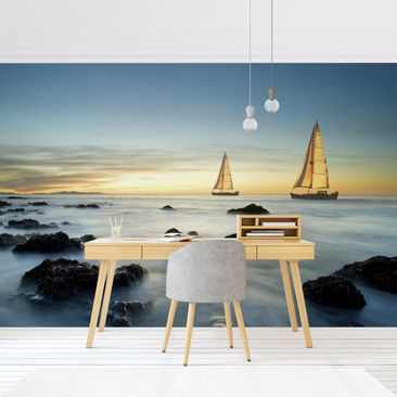 Product picture Photo Wall Mural - Sailboats In The...