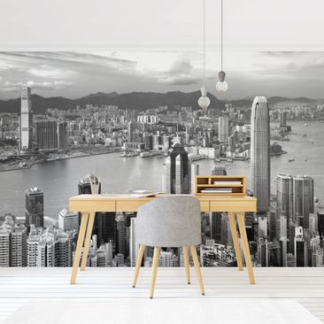 Product picture Photo Wall Mural - Skyline Nostalgia -...