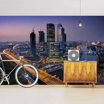 Product picture Photo Wall Mural - Sunset Over Moscow -...