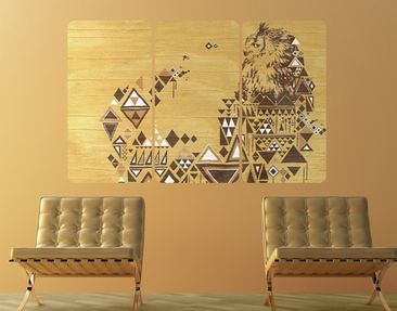 Product picture Wall Mural No.MW17 Amerindian Owl...