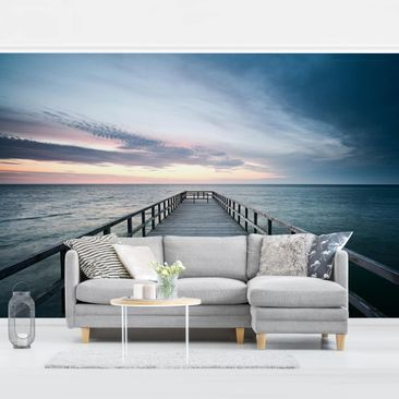 Product picture Photo Wall Mural - Steg Promenade -...