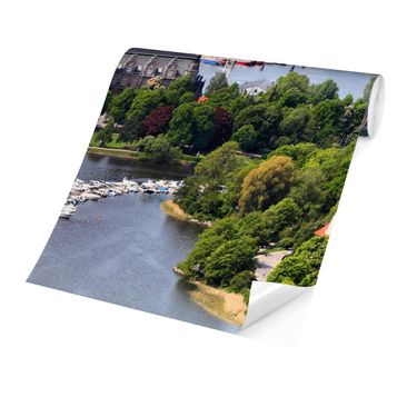 Product picture Photo Wall Mural - Stockholm City -...