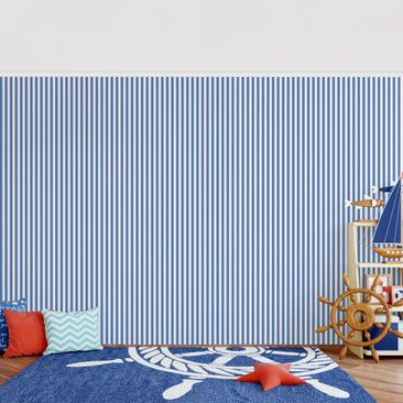 Product picture Photo Wall Mural - No.YK44 Strips Blue...
