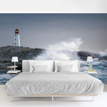 Product picture Photo Wall Mural - Storm Waves At The...