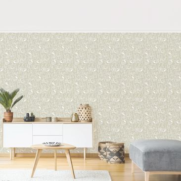 Product picture Photo Wall Mural - Swan Lake -...