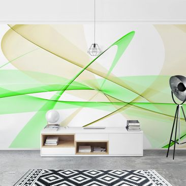 Product picture Photo Wall Mural - Transparent Waves -...