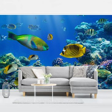 Product picture Photo Wall Mural - Underwater Lights -...