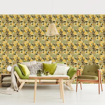Product picture Photo Wall Mural - Vintage Flowers -...