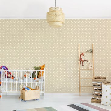 Product picture Photo Wall Mural - No.YK56 White Dots On...
