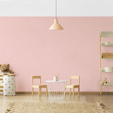 Product picture Photo Wall Mural - No.YK57 White Dots On...