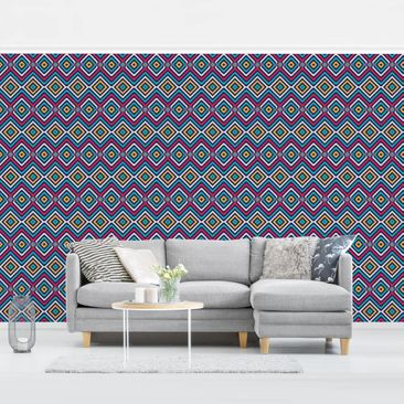 Product picture Photo Wall Mural - Zig Zag Focus -...