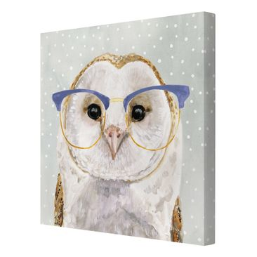 Product picture Canvas Art - Animals With Glasses - Owl...