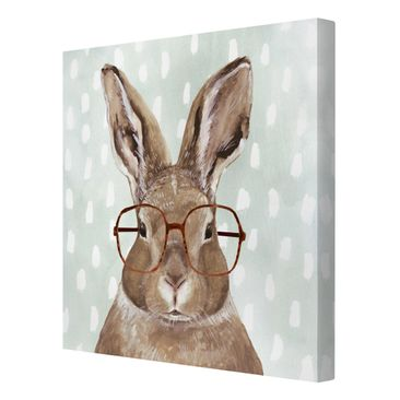 Product picture Canvas Art - Animals With Glasses -...