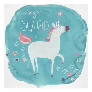 Product picture Canvas Art - Unicorn Troop - Magic -...