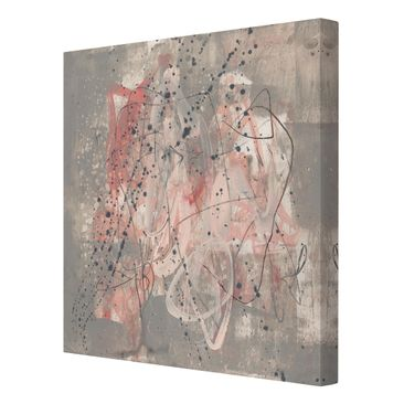 Product picture Canvas Art - Blush I - Square 1:1