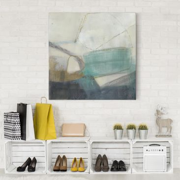Product picture Canvas Art - Fangs With Turquoise I -...
