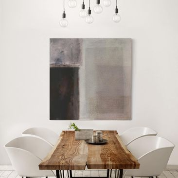 Product picture Canvas Art - Muted Shades II - Square...