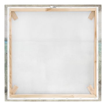 Product picture Canvas Art - Horizon Over Turquoise I -...