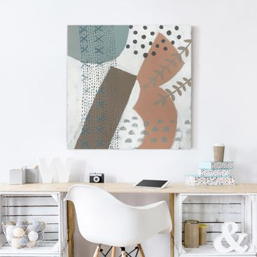 Product picture Canvas Art - Carnival Of Shapes In...