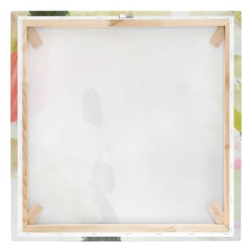 Product picture Canvas Art - Chime In Fuchsia I - Square...