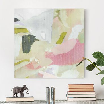 Product picture Canvas Art - Chime In Rosé I - Square...