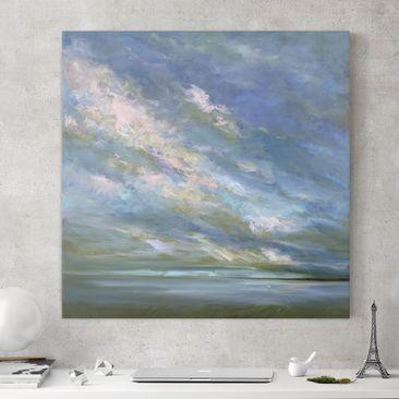 Product picture Canvas Art - Coast Sky - Square 1:1