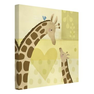 Product picture Canvas Art - Mum And I - Giraffes -...