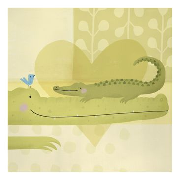 Product picture Canvas Art - Mum And I - Crocodiles -...