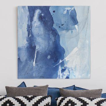Produktfoto Leinwandbild - Nordküste I - Quadrat 1-1 vergrößerte Ansicht in Wohnambiente Artikelnummer 233267-XWA