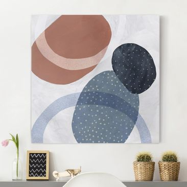 Product picture Canvas Art - Orbit With Points II -...