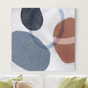 Product picture Canvas Art - Orbit With Points I -...