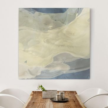 Product picture Canvas Art - Ocean And Desert I - Square...