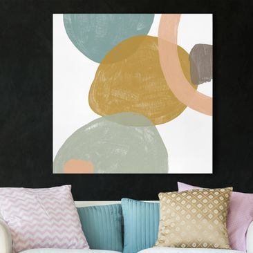 Product picture Canvas Art - Sequins In Detail I -...