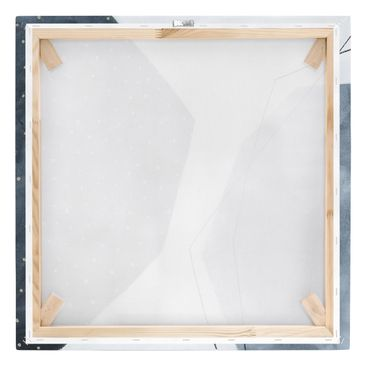 Product picture Canvas Art - Points Dialog III - Square...