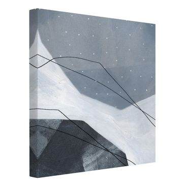 Product picture Canvas Art - Points Dialog II - Square...