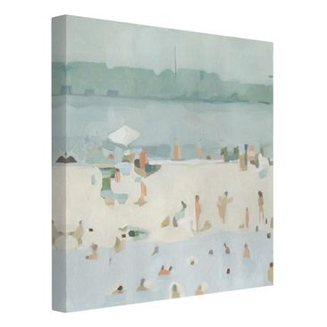 Product picture Canvas Art - Sandbank In The Sea I -...