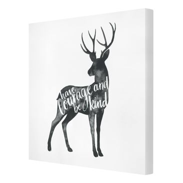 Product picture Canvas Art - Animals With Wisdom -...